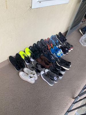 Nike Adidas Converse Men Running Shoes for Sale in Santa Fe Springs, CA