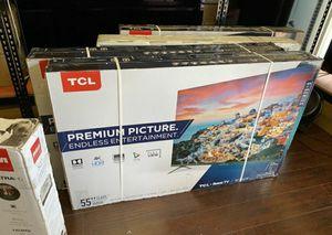 "55""TCL HDR SMART TV ROKU 4K for Sale in Las Vegas, NV"