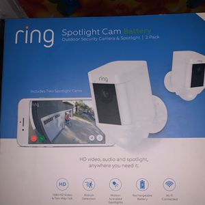 Ring Spotlight Cam Battery 2 Pack for Sale in Costa Mesa, CA