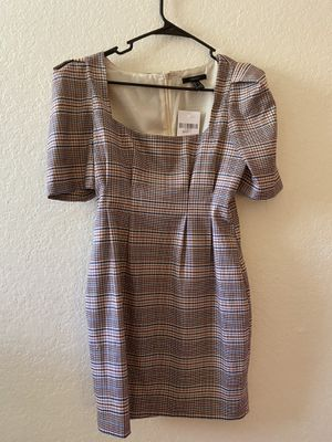 plaid structured dress for Sale in Irvine, CA