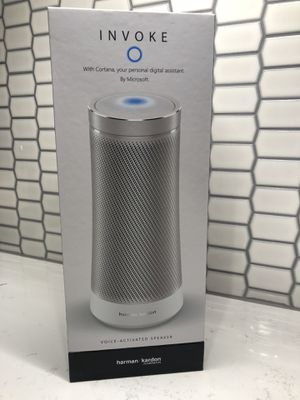 Invoke Voice-Activated Speaker for Sale in Seattle, WA