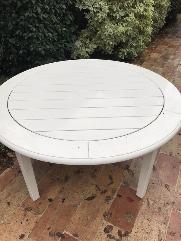 Weatherend outdoor dining table