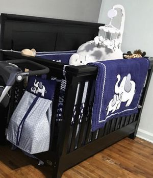 Black crib for Sale for sale  Queens, NY