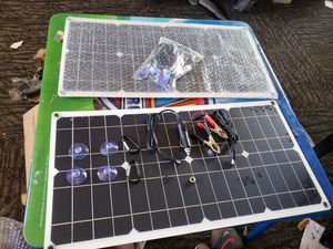 2 Solar panels 100w for rv or whatever u want for Sale in Phoenix, AZ
