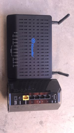 VisionNet Internet cable modem and Dlink wireless router for Sale in Norman, OK