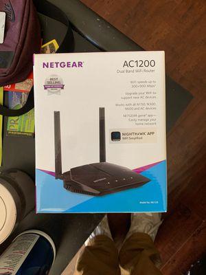 Netgear AC1200 Dual Band Wifi Router for Sale in Gardena, CA