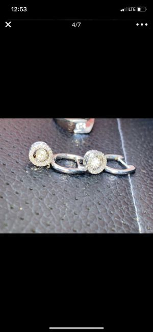 20Point Diamond! Earrings & Ring! for Sale in Glendale, CA