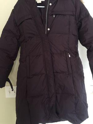 Michael Kors Faux fur- trim down jacket. for Sale in Nashville, TN