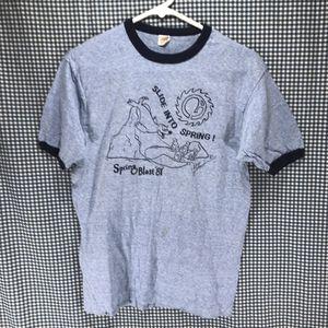 Vintage Hanes Ringer 1981 Spring Blast T-Shirt Men's Size Large for Sale in Anchorage, AK