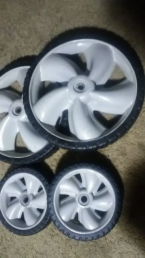 Lawn Mower Two front and Two Rear Tire s for Sale in Fort Worth, TX