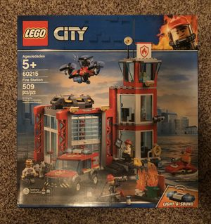 LEGO City Fire Station Set for Sale in Snohomish, WA
