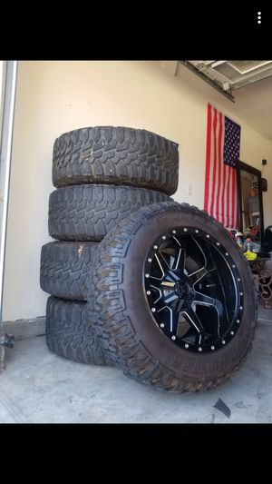 2018 Jeep rubycom rims for Sale in Fresno, CA