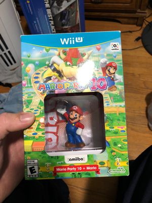 Mario Party 10 Amiibo only for Sale in Hemet, CA