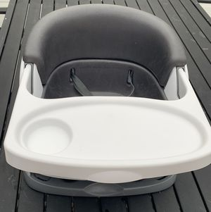 Ingenuity Toddler Booster Seat Grey for Sale in Evergreen Park, IL