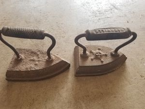 Antique irons for Sale in Midland, TX