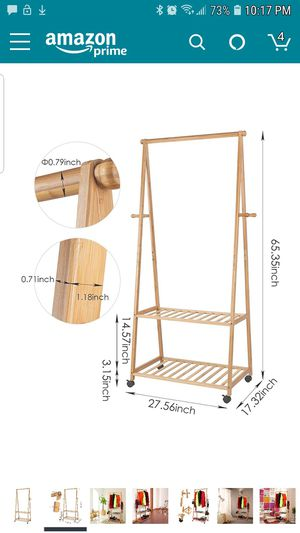 Bamboo Clothing Rack for Sale in Washington, DC