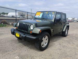 2007 Jeep Wrangler Sahara unlimited for Sale in Modesto, CA