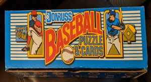 1989 Donruss Baseball Puzzle & Cards for Sale in Sacramento, CA
