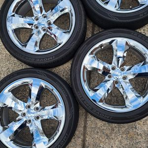 OEM Dodge Chrome Rims for Sale in Raleigh, NC