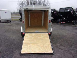 03 in closed single axle trailer for Sale in Lakewood, CO