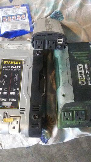 Stanley 800 watt power converter for Sale in Portland, OR
