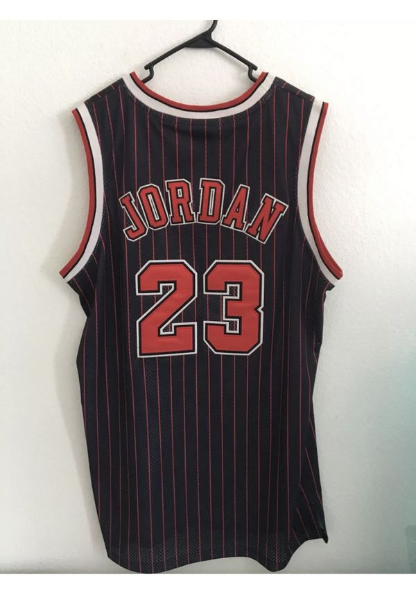 716642b629e **Authentic Chicago Bulls Michael Jordan Jersey #23** for Sale in ...