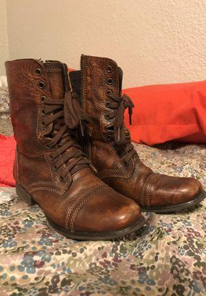 Steve Madden Troopa combat boots, size 7 for Sale in Denver, CO