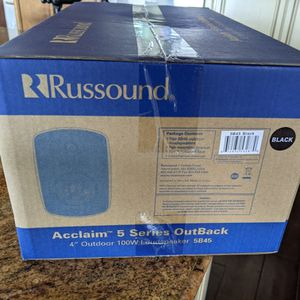 """Russound Acclaim Series Outback 4"""" Outdoor 100W Loudspeaker 5B45 for Sale in Lakeside, CA"""