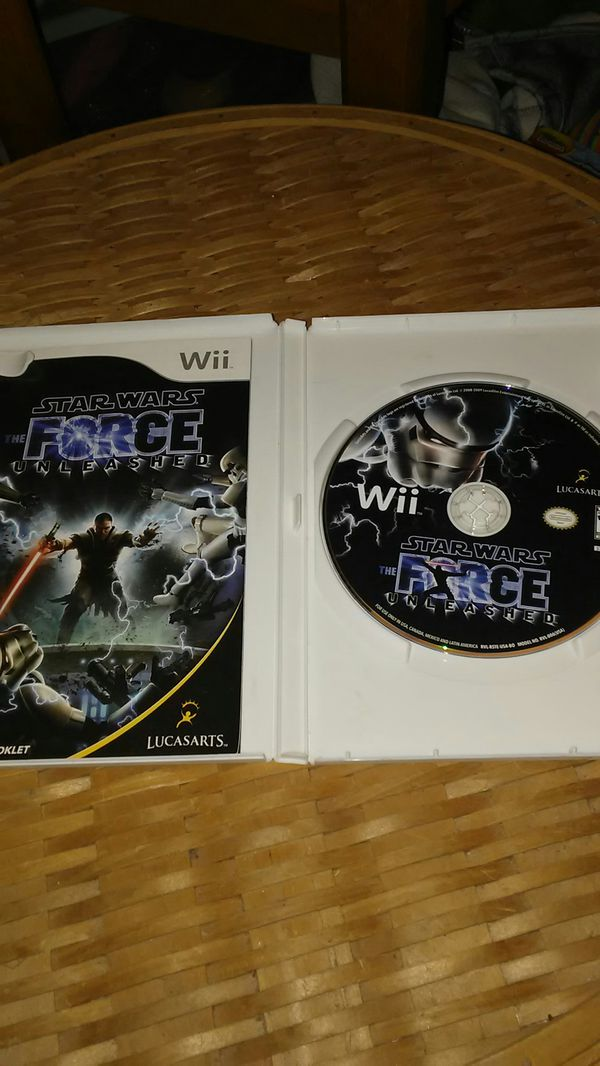 Star Wars: Force Unleashed(Wii)..Mint