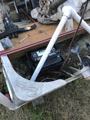 12 ft. Semi- v boat with a 30 lb. thrust trolling motor. Looking for trades. What's out there. for Sale in Bowling Green, MO