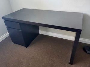 Ikea Desk dark chocolate color for Sale in El Cajon, CA