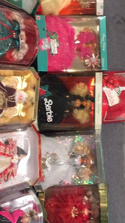Special Holiday Edition Barbies 1988-1998 for Sale in Ashburn,  VA