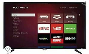 "TCL 40"" Roku Smart TV for Sale in Jacksonville, FL"