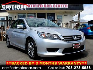 2013 Honda Accord Sdn for Sale in Fairfax, VA