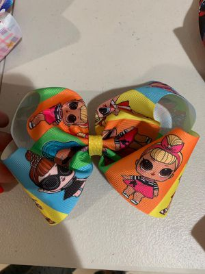 Bows LOL, Minnie, baby shark, jojo, frida, Tommy Hilfiger for Sale in San Antonio, TX