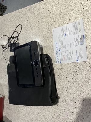 PORTABLE PHILIPS DVD PLAYER for Sale in Troy, MI