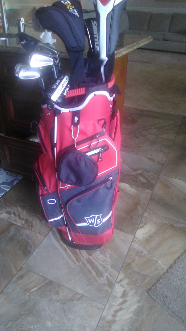 Golf tour bag nylon very light brand new must sell 125 $ cost new 275