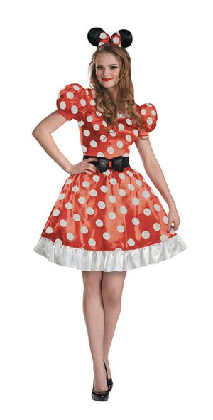 Women's Classic Red Minnie Mouse Costume for Sale in Anaheim, CA