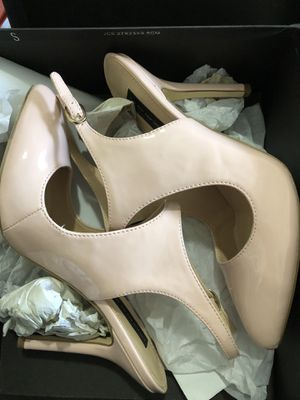 Brand new Steve Madden pink patent leather blush dress heels size 8.5 perfect wedding sandals pumps for Sale in FL, US