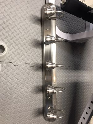 Brushed nickel vanity light fixture 31 inches wide for Sale in Chicago, IL