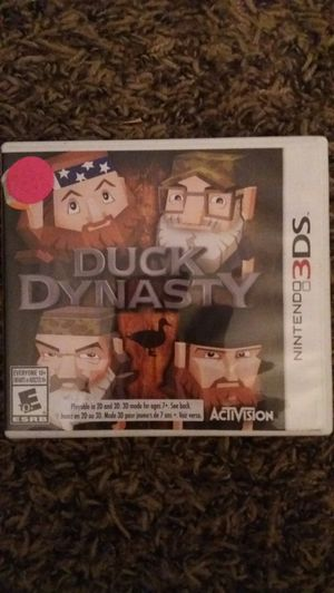 DUCK DYNASTY (Nintendo 3DS) for Sale in Lewisville, TX