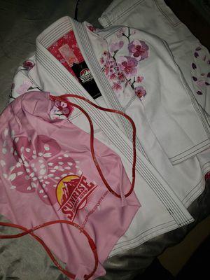 Sunrise combat gear mma fighting Jiu jitsu combat gear size f0 retail value $150 for Sale in Alexandria, VA