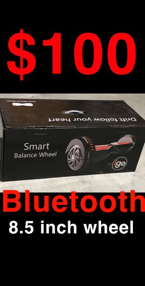 Hoverboard bluetooth speaker 8.5 inch wheel for Sale in Los Angeles, CA