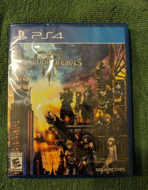 Brand New Sealed Kingdom Hearts 3 for Sale in Lexington, MA