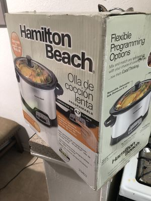 Hamilton Beach Crock-Pot for Sale in Los Angeles, CA