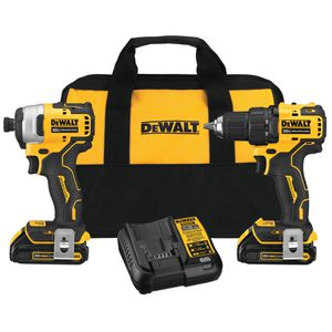 DeWalt ATOMIC 20V Brushless Compact Drill & Impact Driver Combo Kit for Sale in Federal Way, WA