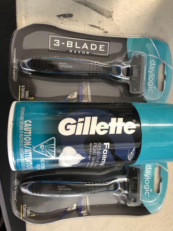 3 blade razors