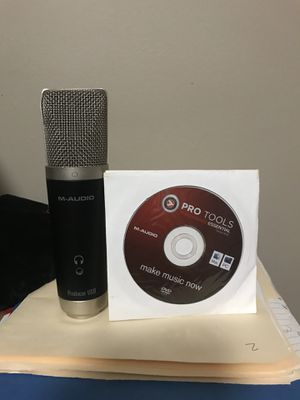 Pro Tools 8.02 and M-Audio Usb Mic included for Sale in Cincinnati, OH