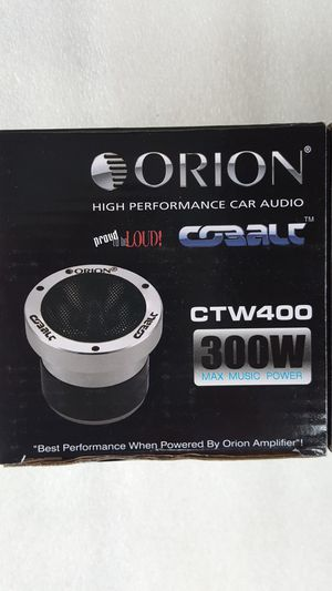 """Orion Cobalt CTW400 3.5"""" 75W RMS Pro Audio Horn Tweeters 300W Max (PAIR) for Sale in Santa Ana, CA"""
