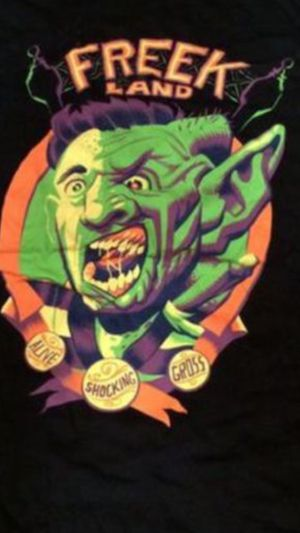 Freaked 80's movie lot (Special edition dvd set and shirt) for Sale in Stockton, CA